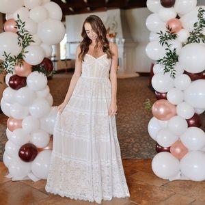Tadashi Shoji Tatiana Lace Gown Wedding Dress